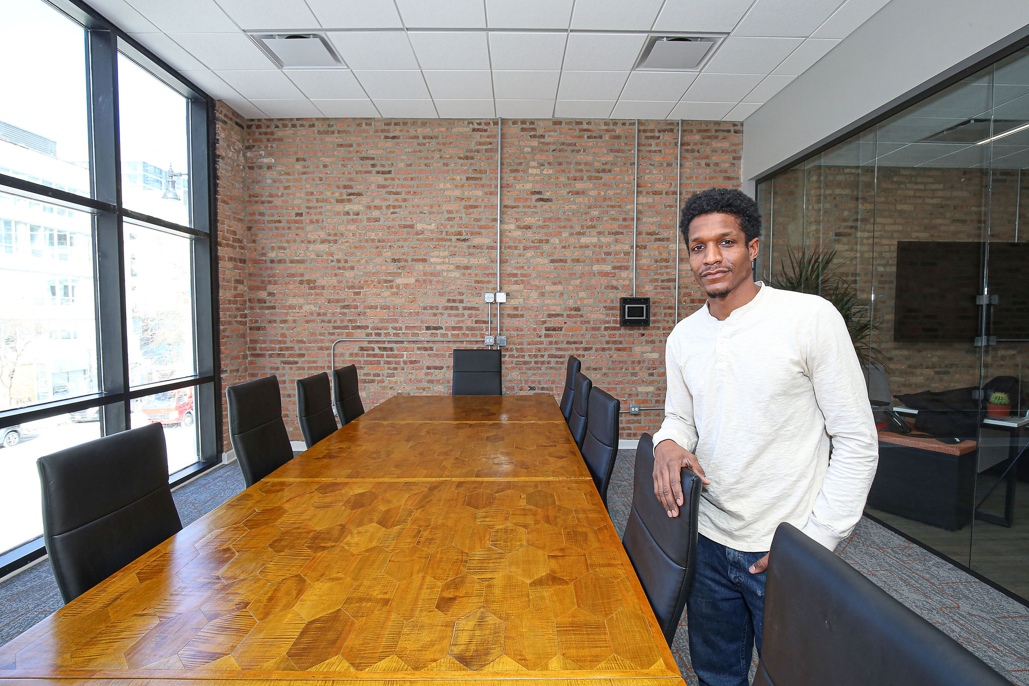 Julius Dorsey, Founder and Designer, Chicago Fire Furniture